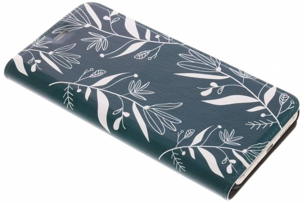 Botanic Bloem Design Booklet voor de Huawei P10 Lite