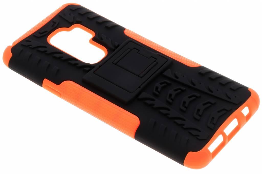 Oranje Rugged Hybrid Case voor de Samsung Galaxy S9 Plus