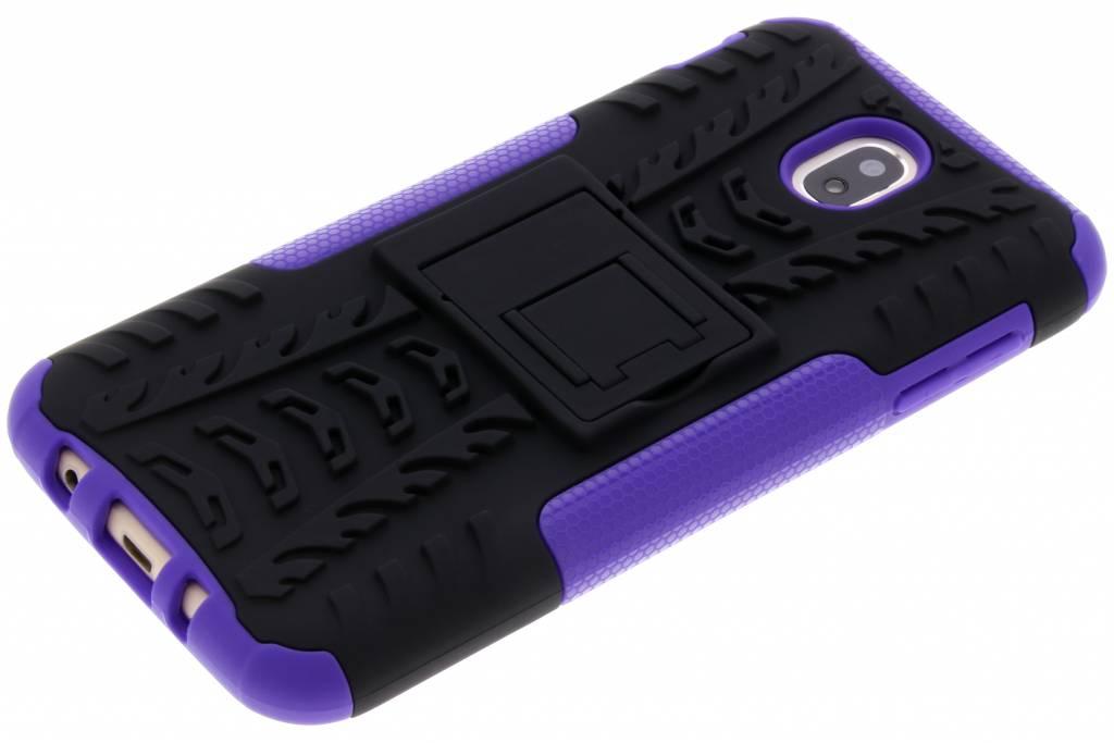 Cas Violet Hybride Robuste Pour Samsung Galaxy J7 (2017) gOjudCzW6N