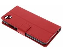 Rood TPU Bookcase Wiko Sunny 2 Plus