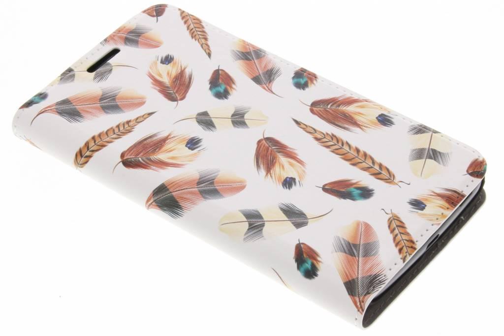 Feathers Design Booklet voor de Motorola Moto G5