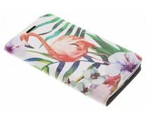 Flamingo Design Booklet Motorola Moto G5