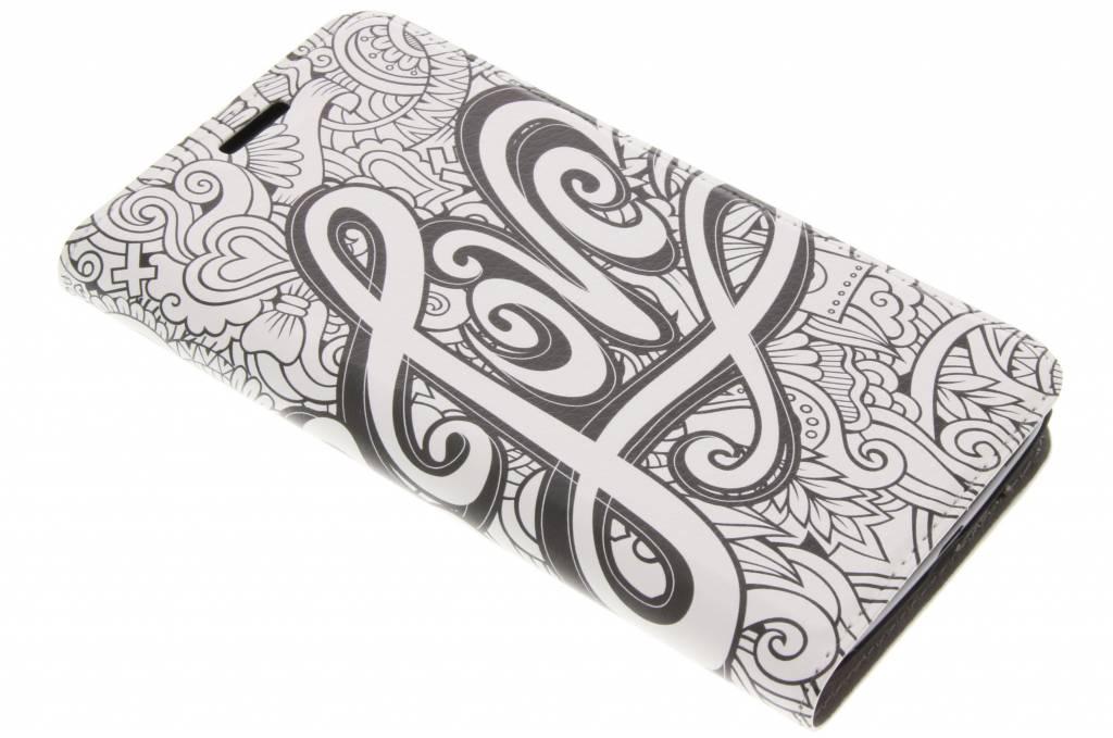Love Design Booklet voor de Motorola Moto G5
