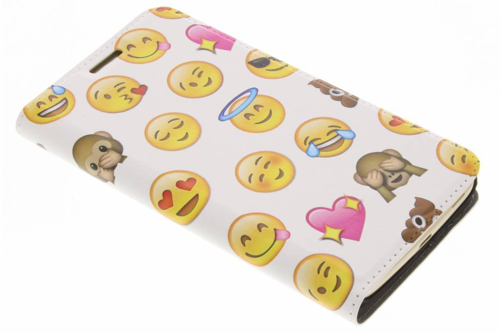 Emoji Smiley Design Booklet voor de Motorola Moto G5