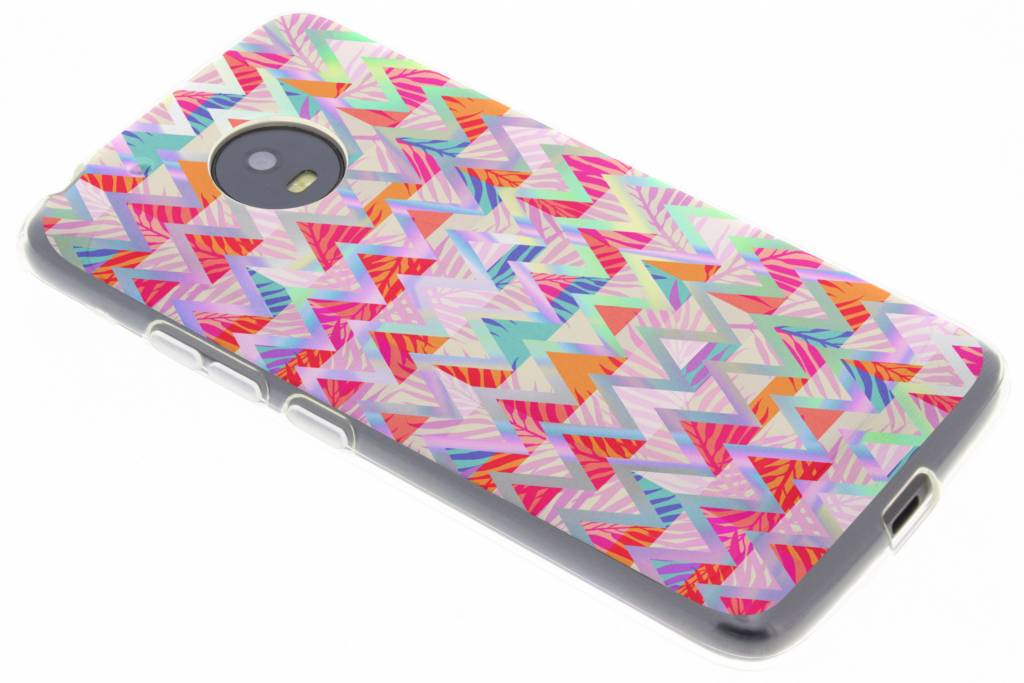 Holographic colorful case voor de Motorola Moto G5