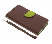 Blad design TPU booktype hoes Motorola Moto G5