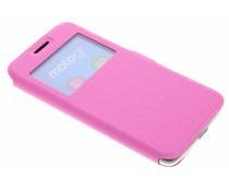 Roze Rhombus hoesje Motorola Moto G5