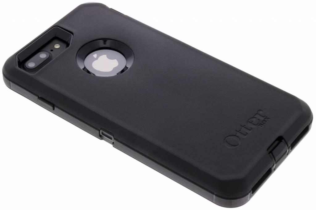 Zwarte Defender Rugged Case voor de iPhone 8 Plus / 7 Plus / 6(s) Plus