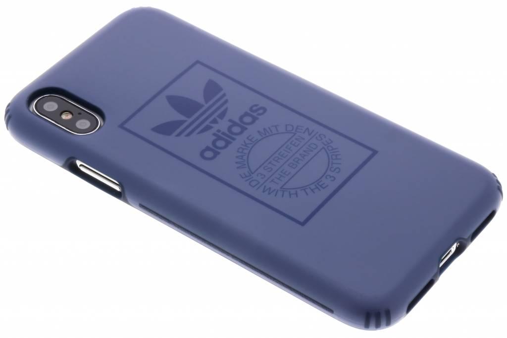 adidas Originals Blauwe TPU Hard Cover voor de iPhone Xs / X