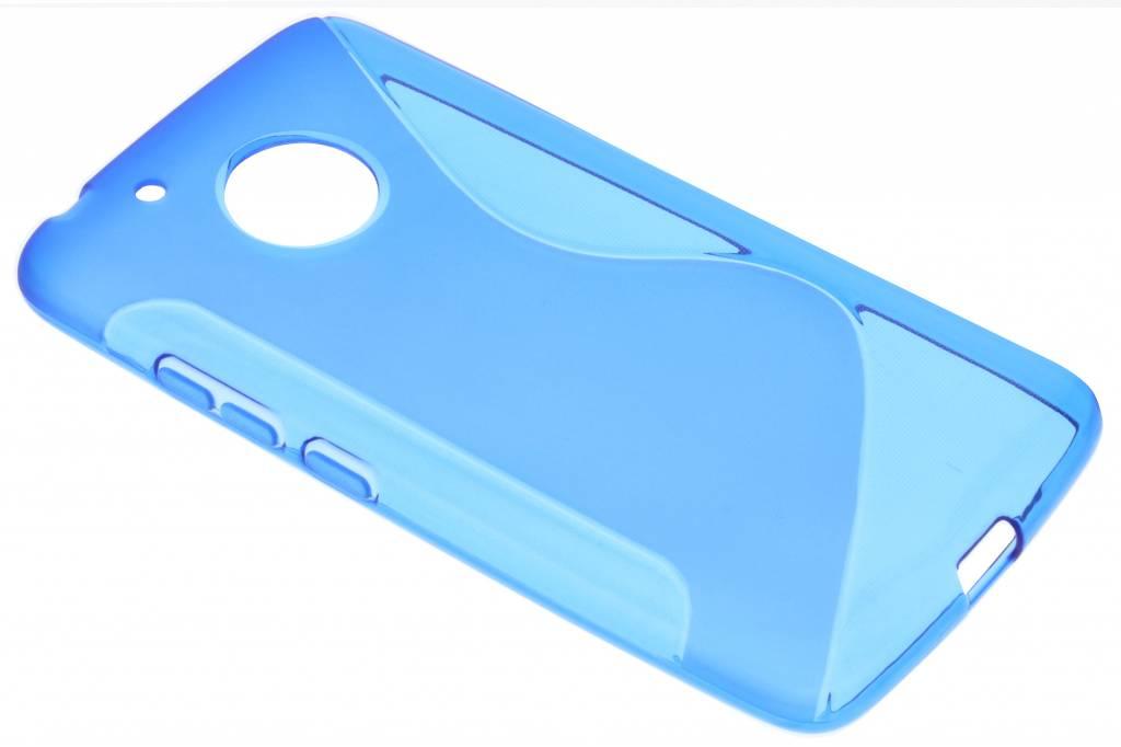 Blauw S-Line TPU hoesje voor de Motorola Moto G5