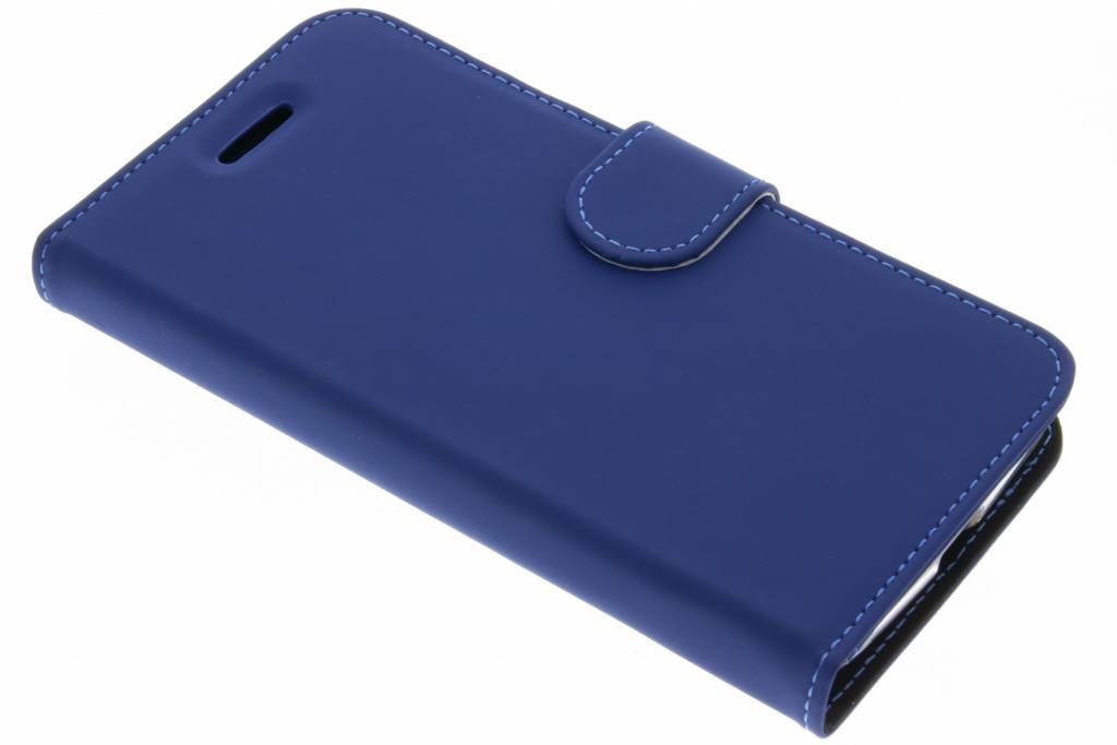 Accezz Blauwe Wallet TPU Booklet voor de Motorola Moto G5