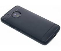 Donkerblauw Brushed TPU case Motorola Moto G5