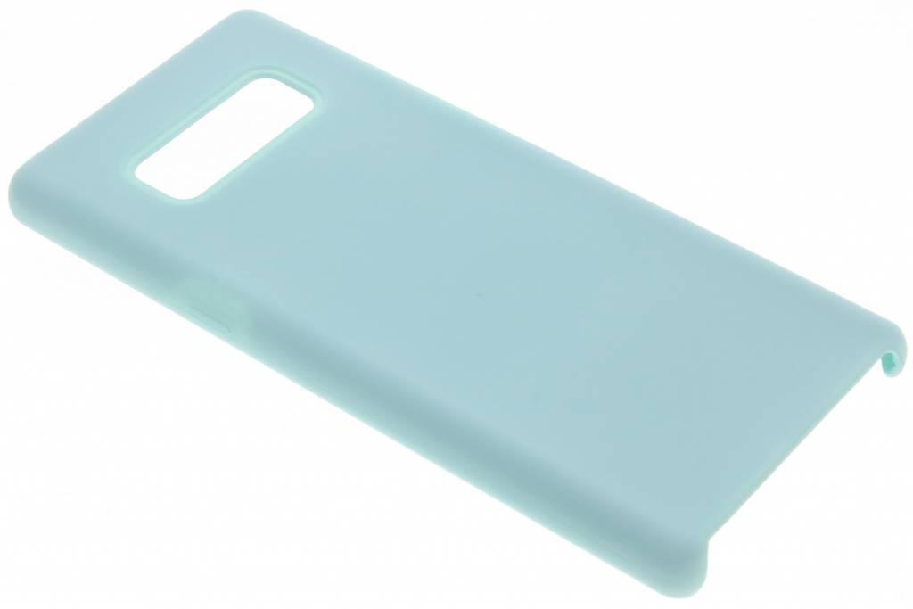 Blauwe siliconen hoes voor de Samsung Galaxy Note 8