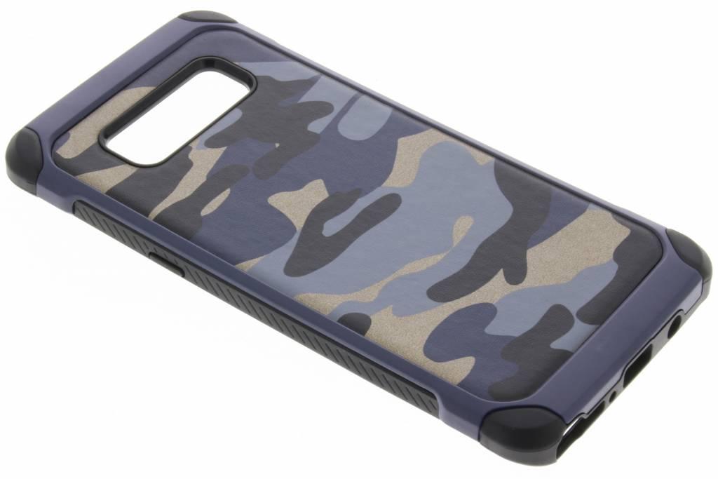 Blauwe army defender hardcase hoesje voor de Samsung Galaxy Note 8