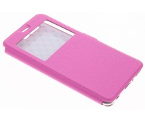 Roze Rhombus hoesje Huawei P10 Plus