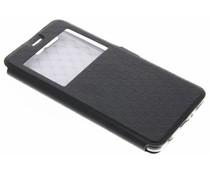 Zwart Rhombus hoesje Huawei P10 Plus