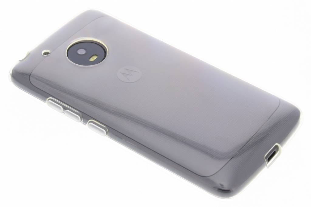 Accezz Transparante TPU Clear Cover voor de Motorola Moto G5
