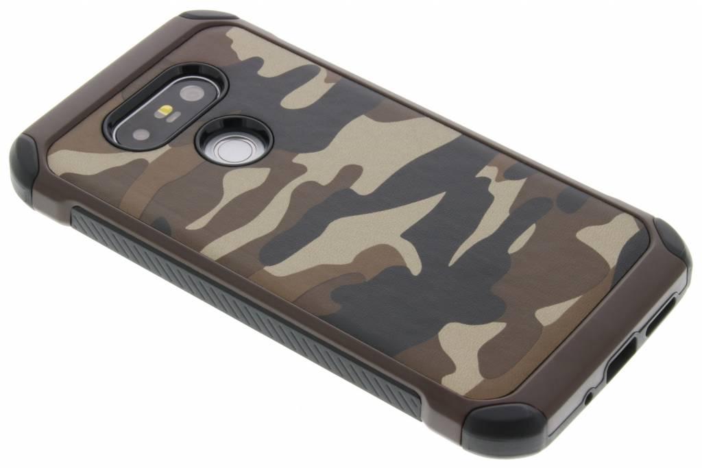 Bruin army defender hardcase hoesje voor de LG G5 (SE)