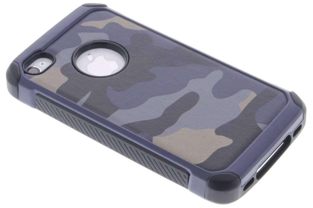 Blauw army defender hardcase hoesje voor de iPhone 4 / 4s