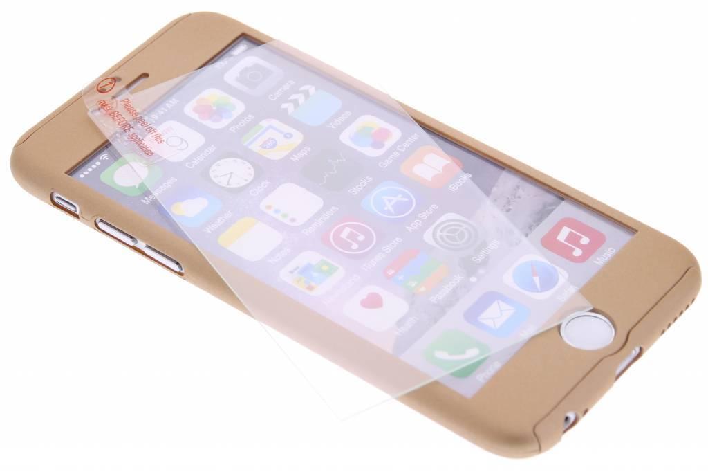 Gouden 360° effen protect case voor de iPhone 6(s) Plus