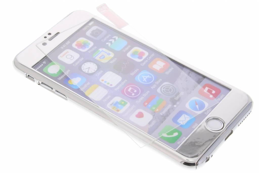 Zilveren 360° effen protect case voor de iPhone 6(s) Plus