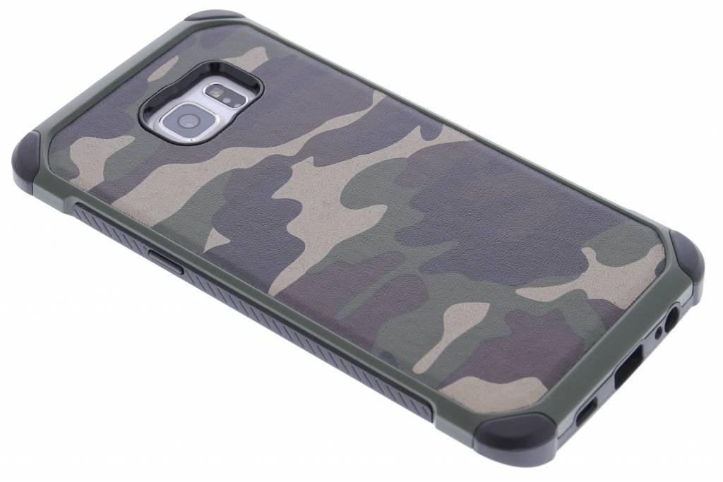 Groen army defender hardcase hoesje voor de Samsung Galaxy S6 Edge Plus