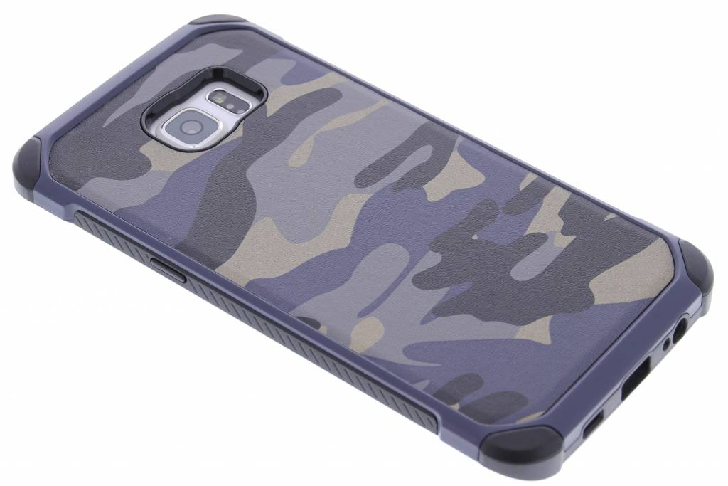 Blauw army defender hardcase hoesje voor de Samsung Galaxy S6 Edge Plus