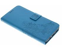 Klavertje bloemen booktype hoes Samsung Galaxy Note 8
