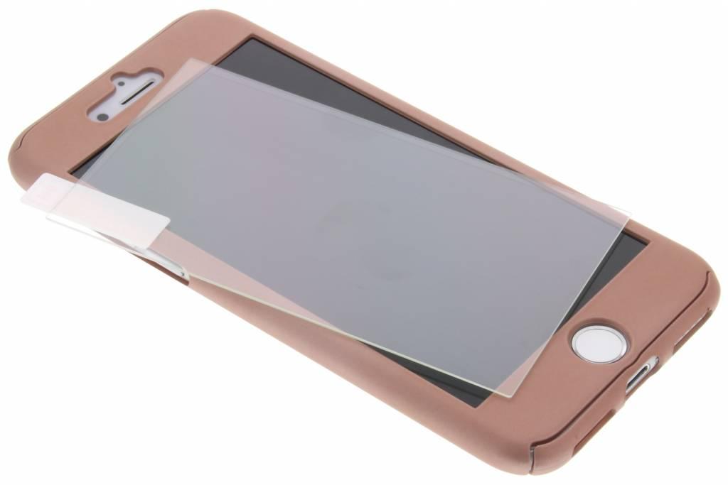 Roze 360° effen protect case voor de iPhone 8 / 7