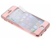 Rosé goud 360° effen protect case iPhone 5 / 5s / SE