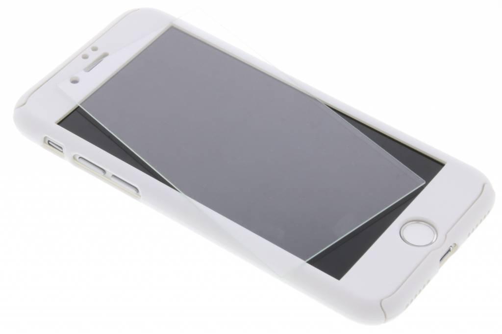 Witte 360° effen protect case voor de iPhone 8 / 7