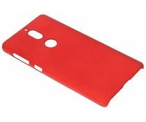 Rood effen hardcase hoesje Nokia 7
