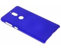 Blauw effen hardcase hoesje Nokia 7