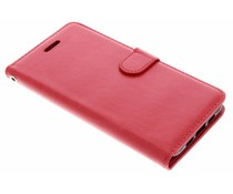 Rood Litchi Booktype Hoes Xiaomi Mi 6