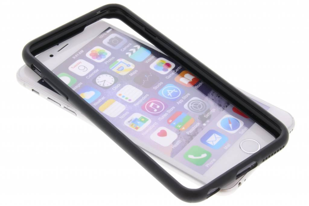 Be Hello Zwarte Bumper Case voor de iPhone 6(s) Plus