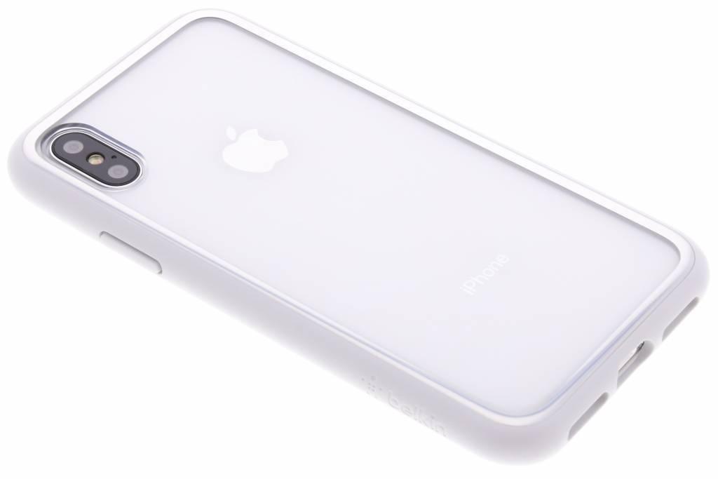 Belkin Zilveren Sheerforce™ Elite Case voor de iPhone X