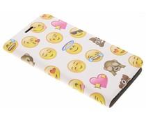 Emoji Design Booklet Motorola Moto E4 Plus
