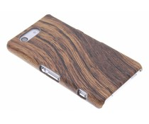 Hout design hardcase Sony Xperia Z3 Compact