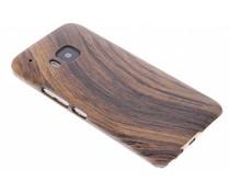 Hout design hardcase hoesje HTC One M9