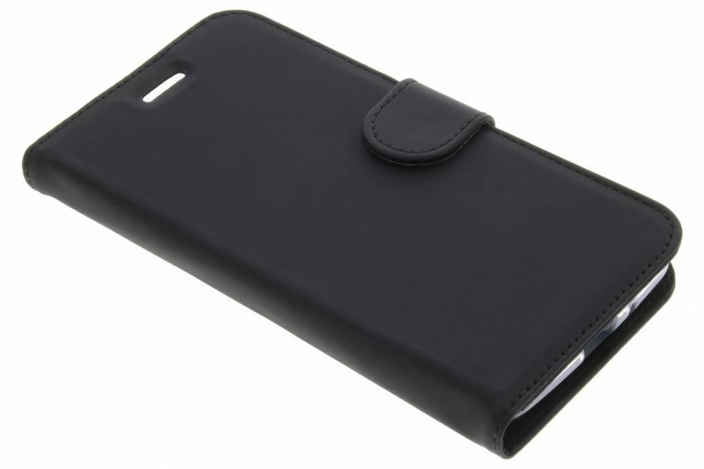 Accezz Zwarte Wallet TPU Booklet voor de Motorola Moto E4