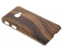 Hout design hardcase hoesje Samsung Galaxy Xcover 4