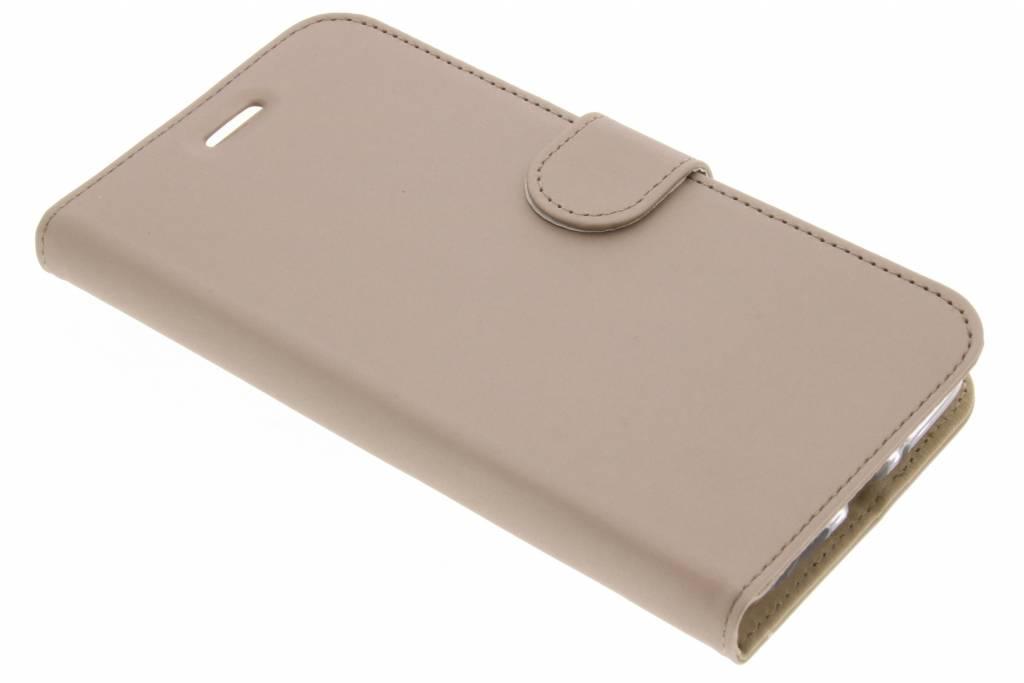 Accezz Gouden Wallet TPU Booklet voor de Motorola Moto E4 Plus