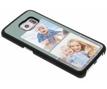Ontwerp uw eigen Samsung Galaxy S6 Edge hardcase - Zwart