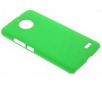 Groen effen hardcase hoesje Motorola Moto E4