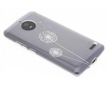 Transparant festival TPU hoesje Motorola Moto E4
