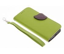 Blad design TPU booktype hoes Motorola Moto G 3rd Gen