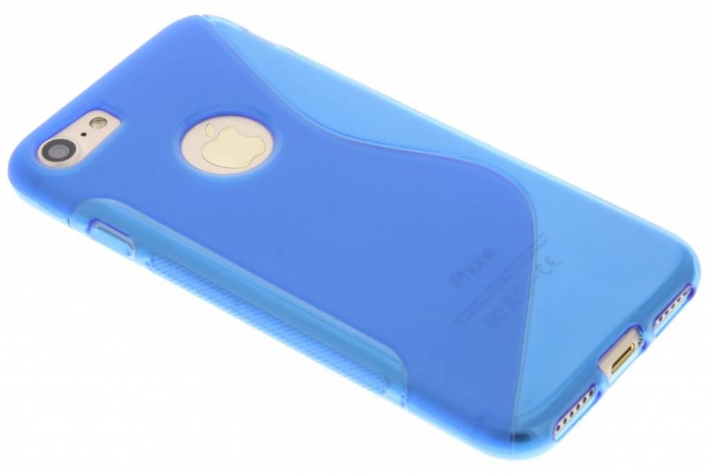 Blauw S-line TPU hoesje voor de iPhone 8 / 7
