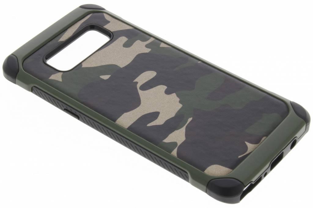 Groene army defender hardcase hoesje voor de Samsung Galaxy Note 8