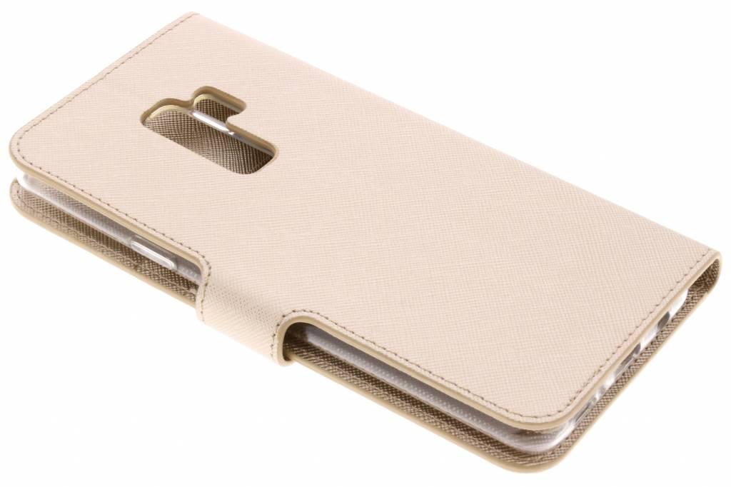 Type De Livre Gris Saffiano Cas Pour Samsung Galaxy S, Plus S9