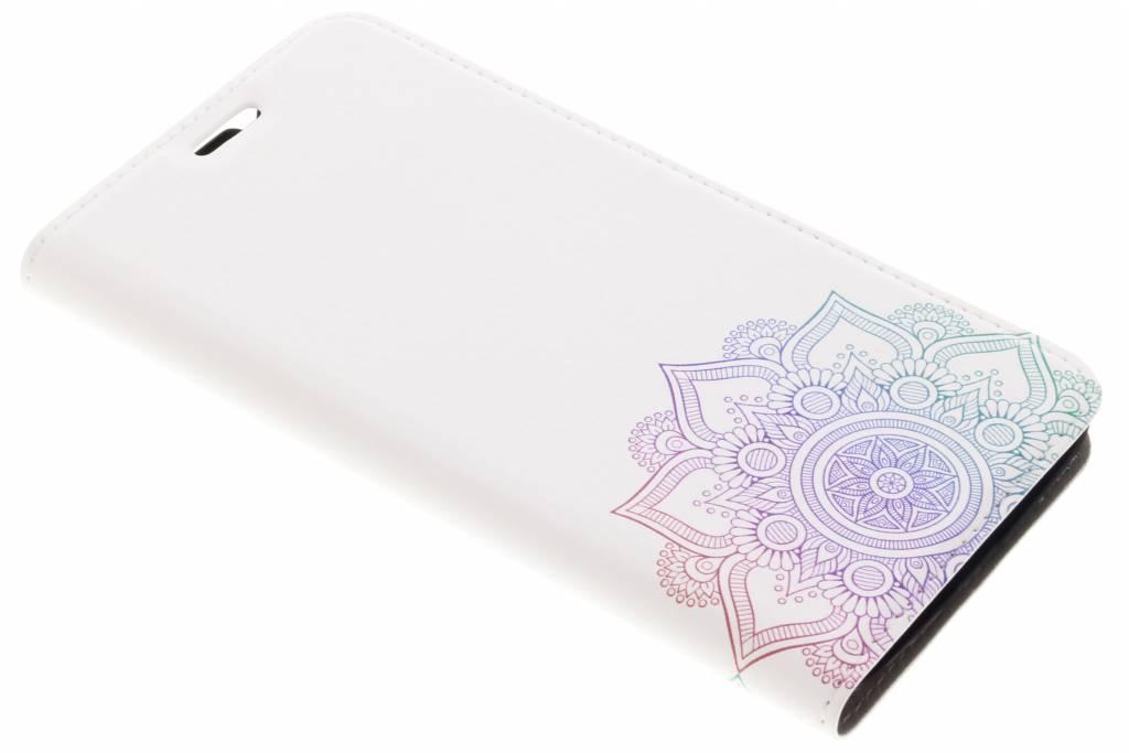 Multicolor Mandala Design Booklet voor de Motorola Moto G5S